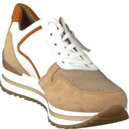 Gabor 56.526.40 Women Sneaker - White/brown