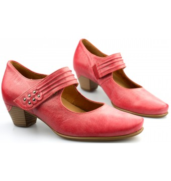 Gabor 42.149.68 pink soft leather women pumps