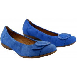 Gabor 62.624.76 royal blue suede