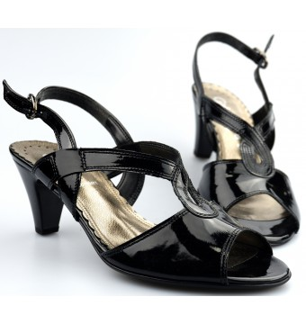 Gabor 66.565.97 sandal black leather