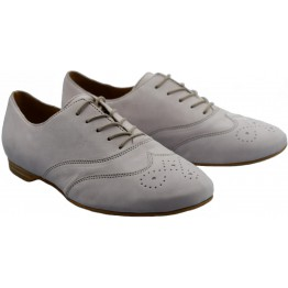 Gabor 44.146.35 light pink leather laceshoe for women