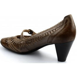 Gabor pumps 85.280.73 taupe leather