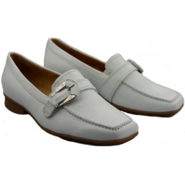 Gabor slip-on 85.301.21 white leather