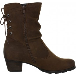 Gabor medium boots 56.604.25 brown nubuck