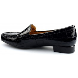 Gabor 96.324.97 alligatorlack black leather
