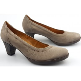 Gabor 42.180.31 fumo taupe soft nubuck women pumps