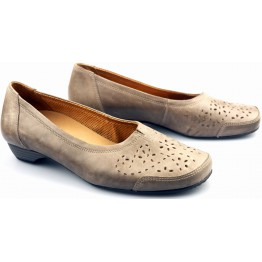 Gabor slip-on 42.543.63 taupe leather