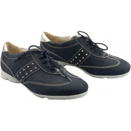 Gabor sneakers 42.555.46 dark blue nubuck