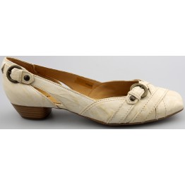 Gabor pump 61.332.52 off white leather