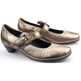 Gabor pumps 86.138.90 metallic bronze/silver leather
