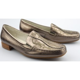 Gabor slip-on 86.323.90 silver metallic leather