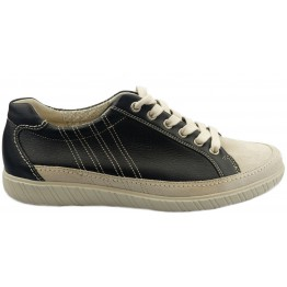Gabor sneaker 86.458.59 black leather