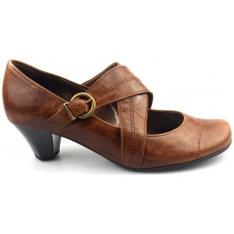 Gabor pumps 95.277.54 crunch nappa cognac