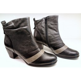 Gabor 15.780.60 black grey leather