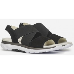 Gabor Rollingsoft 26.915.47 Women's Walking Sandal - Black