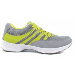 Gabor 64.352.49 grey yellow women sport sneaker