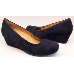 Gabor pumps 92.600.46 dark blue suede   WEDGES