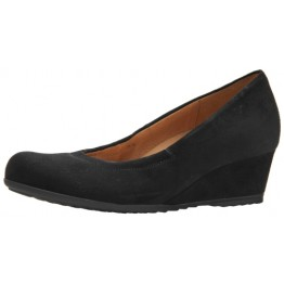 Gabor pumps 82.600.47 black suede   WEDGES