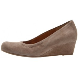 Gabor pumps 92.600.61 taupe gray suede   WEDGES