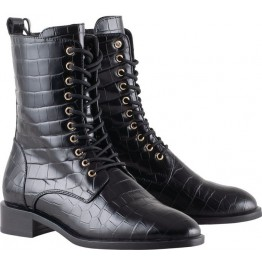 Högl ankle boots Soho 0-101106-0100 black embossed leather