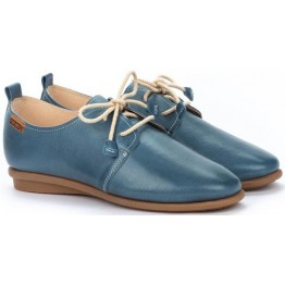 Pikolinos CALABRIA W9K-4985 Leather Lace-up Shoe for Women - Sapphire