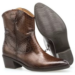 Gabor 51.600.63 Women Ankle Boot - Brown Crocoprint
