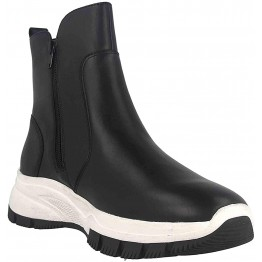 Gabor 53.572.27 women leather ankle boot black