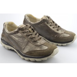 Gabor rollingsoft sensitive 26.965.34 argento silver leather suede combi