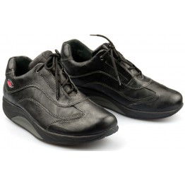 Gabor rollingsoft 46.920.17 black nubuck leather
