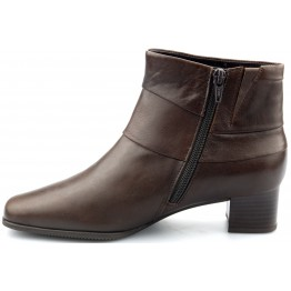 Gabor ankle boots 36.622.35 dark brown lined WIDE FITTING