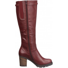 Gabor 53.600.25 leather boots wine red    MEDIUM SHAFT