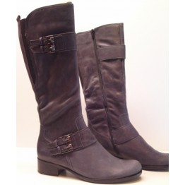 Gabor boots 31.502.39 anthrazit grey nubuck         NARROW LEG