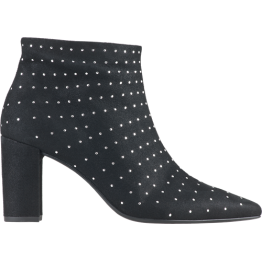 Högl ankle boots GALAXIA 6-107992-0100 black leather SWAROVSKI CRYSTALS