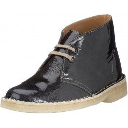 Clarks Originals ankle boots DESERT BOOT charcoal patent leather