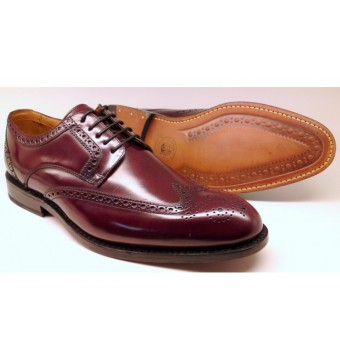 Clarks DIXON CLASS GOODYEAR WELTED burgundy leather