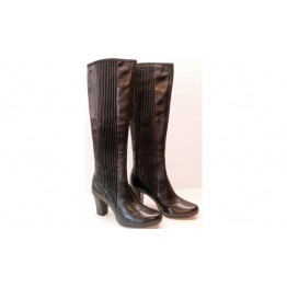 Clarks boots LION STRETCH black leather