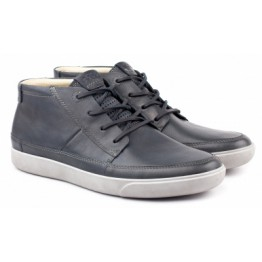 Ecco boot sneaker 500614-01415 GARY blue leather