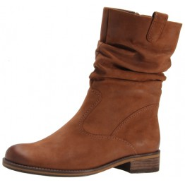 Gabor 72.792.23 nut brown nubuck medium long boot for women